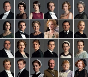 Residents of Downton Abbey