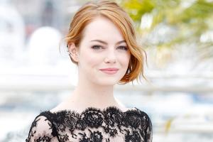 15 May 2015, Cannes, France, France --- Emma Stone photo call 'Irrational Man' Cannes Film Festival 2015 Cannes, France May 15, 2015 ©Kurt Krieger --- Image by © Kurt Krieger/Corbis