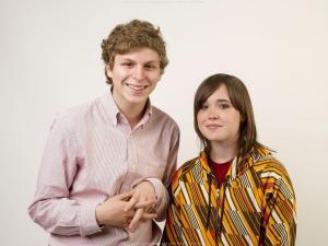 Michael Cera and Ellen Page